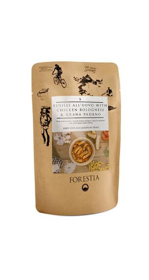 Forestia Fusili all'uovo with Chicken Bolognese